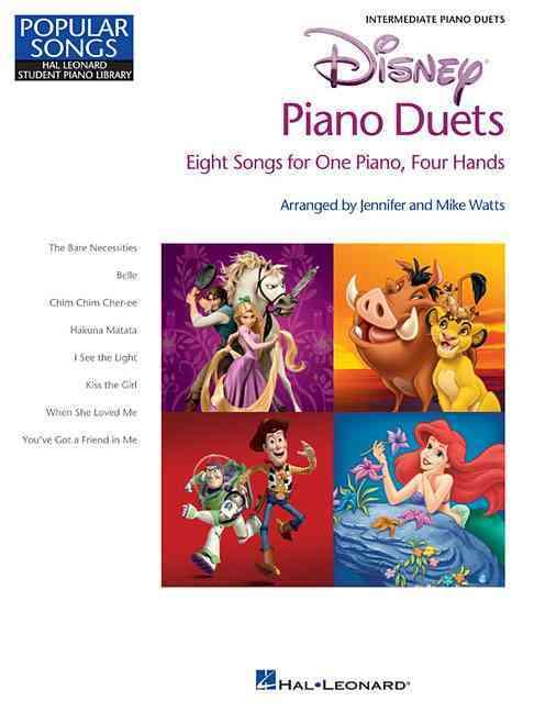 Disney Piano Duets By Watts, Mike (CRT)/ Watts, Jennifer (CRT)
